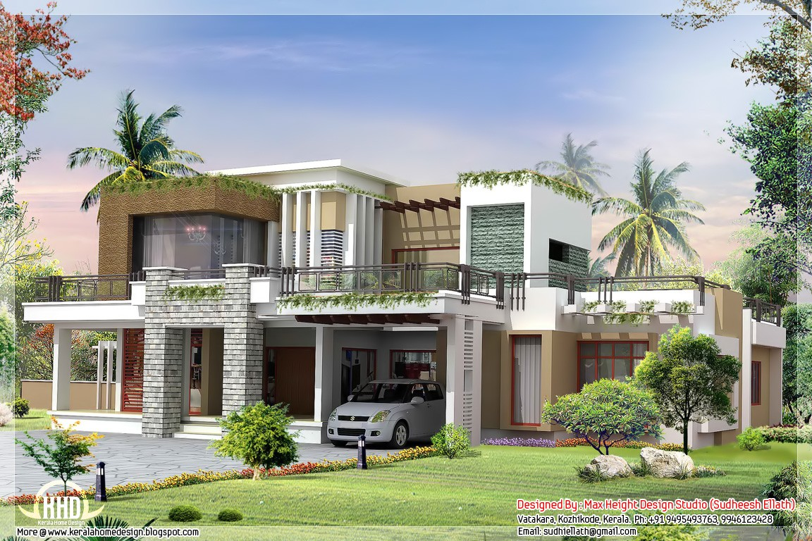 Homedesignsnow the best home design news for Contemporary home plans 2015