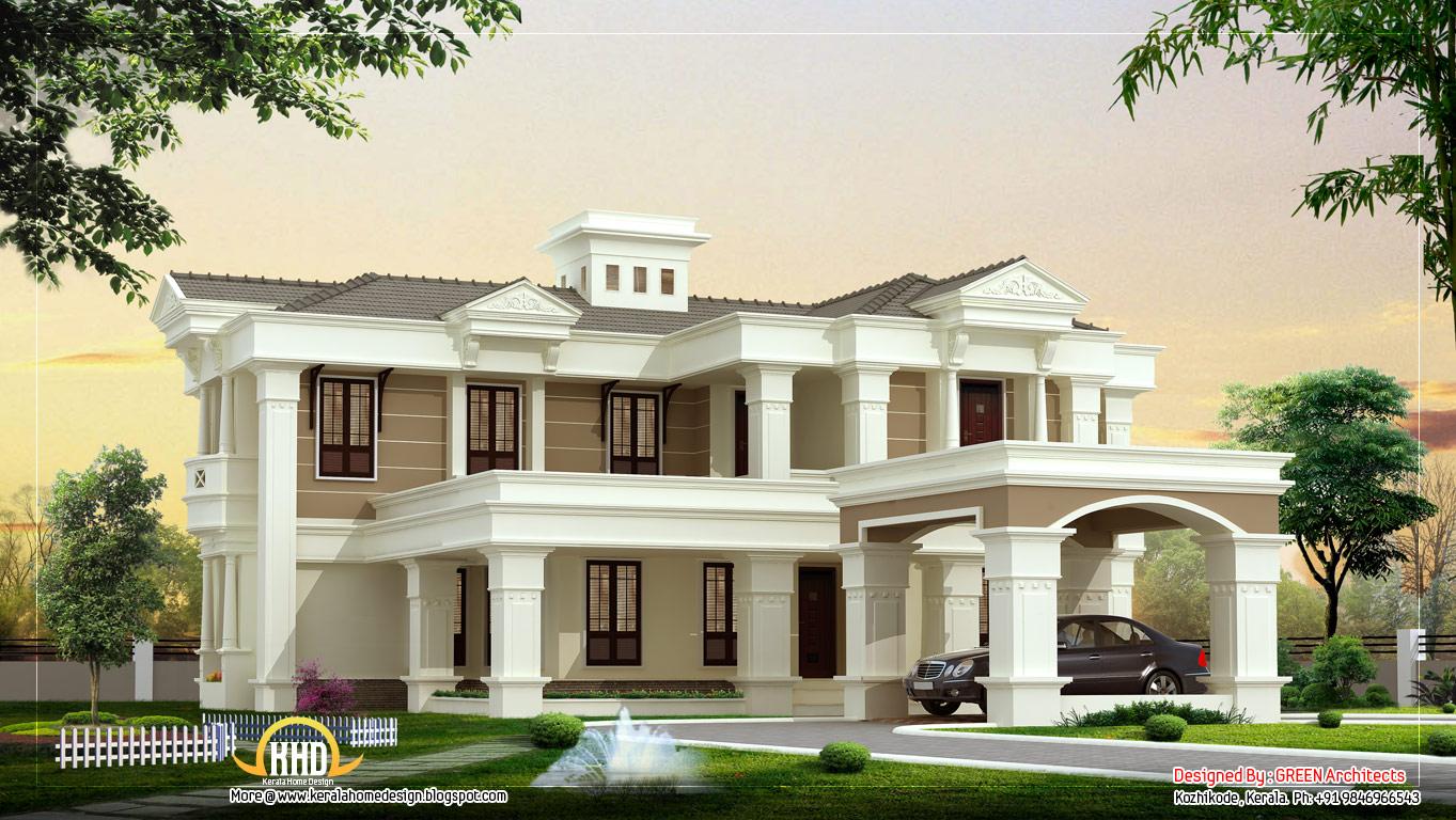 villa home design plans - home plan