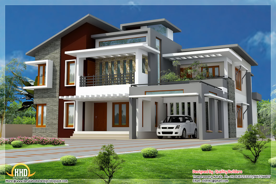 Home Design Project Modern House - Project Home Designs